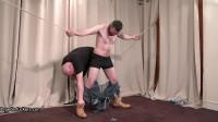 Gareth - Nabbed clothes shredded gagged