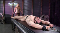 Vanessa Cage - Prostate Wand Milking - online, slave, tit