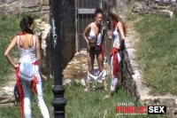 The Galician Girls Pissing 11