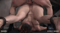 Bella Rossi is brutally fucked while bound in a extreme