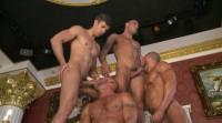 First Time Gangbang Party