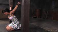 SexuallyBroken - Big breasted Mia Li bent over...
