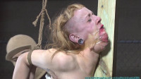 Moxie Belt Whipped, Gagged, Nose Hooked, Clamped, Crotch Roped Part 1