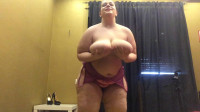 Monster tit bbw mia skipping rope at room