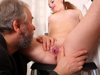 Download Sveta and her lover bring an older friend who loves younger women into their play.