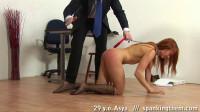 Spanking humiliation