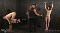 Sensualpain – Jan 08, 2017 – Tandem slave Beating – Emma, Abigail Dupree, Master James