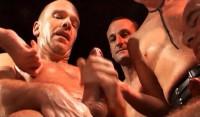 Hardcore Orgy At German Night Club
