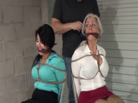 Sandra Silvers Gigi Classic Milf Damsels in Distress Chair-tied Gagged on Screen! (2017)