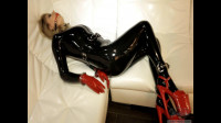 Self-Bondage In Latex