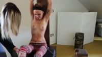 ItaliansTickling - Desperately ticklish Alissa