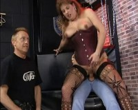 Download Domme got gangbanged