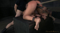 Abella Danger shackled and roughly fucked with brutal drooling deepthroat!