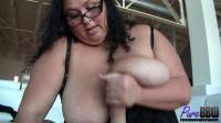 BBW goddess Bella Artista demands your cum