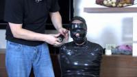 Super bondage, domination and mummification for horny bitch HD 1080p