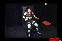 Clair Adams Meets The Sbi Bondage Chair Part 2