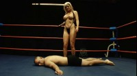 Tylene Buck vs. Leonard - good, head, heels, male, muscular