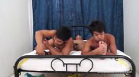 Asian Boy Warren Tickled By Str8 Boys