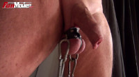 Testicle Clamp Tease.