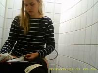 Hidden Camera In The Student Toilet - Vol. 10