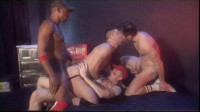 Rough gangbang workout