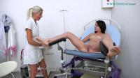 Giorgia Roma(23 years girl gyno exam)