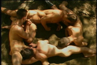 Twinks Gangbang Outdoor Party