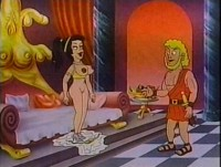 Good old cartoon for adults
