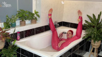 Latex bath time
