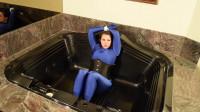 Bettie Banshee — Bondage Bubble Bath Part 1