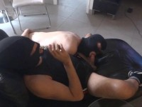 he is given a cum facial. without playing the guessing game first.