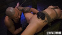 Sabrina Banks is Handcuffed for Rough Outdoor Sex & Bondage