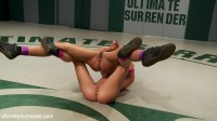 Brutal head locks, submission holds and crushing leg scissors! How much pain can the rookie take?