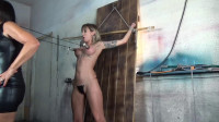 Breast torment interrogation for spy reagan
