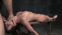 Bondage beauty Bianca Breeze shackled down throatboarded epic brutal deepthroat! (2015)