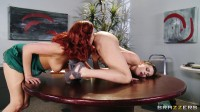Coworker Girl Distracts A Hottie At Work