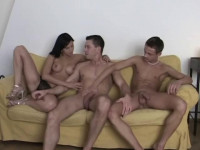 Bareback Bisex Cream Pie part 2