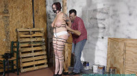 Jolies Big Tits Bounce As She Hops To the Workshop To Be Ziptied 1 part - BDSM