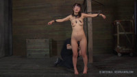 Japan slave Marica Hase first time restriction with metal bondage
