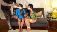 Nyxon and Raquel Roper Tricked and Bound by the Robber
