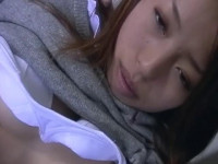 Sex for very beautiful japanese teen girl with hairy pussy and red hair — Asian Porn!
