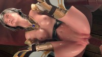 Princess Warrior Hard Fuck
