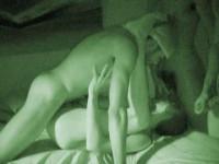 Night Vision Orgy At Dorm
