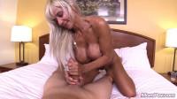 55 year old blonde stripper cougar