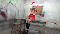 Hunterslair - Lexi Lane - Santa's little helper breast bound hogtied