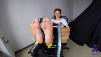 Feet in the Stocks — First Time Giulia — Full HD 1080p
