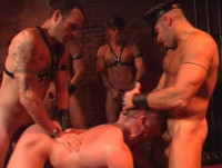 Hard Gangbang At Bdsm Club