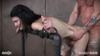 Lydia Black is a velvet throat and tiny pussy. Huge cock destruction incoming! Part 1