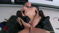 The Guy Gives Her The Exact Kind Of Rough Treatment (master, lick, kinky, rough, tits)