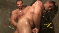 Jimmyz Production - Shower and Suck Part1 - Christian Powers, Emiliano